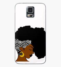 Funda/vinilo para Samsung Galaxy Fro Africano B & W