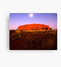 Ulura Canvas Print