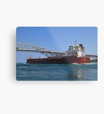 Whitefish Bay and Blue Water Bridge 2 Metal Print