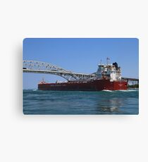 Whitefish Bay and Blue Water Bridge 2 Canvas Print
