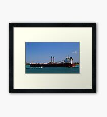 Whitefish Bay and Pleasure Craft Framed Print