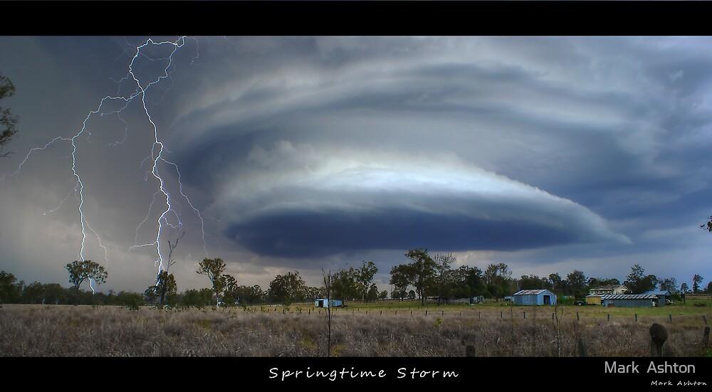 Springtime Storm by Mark  Ashton