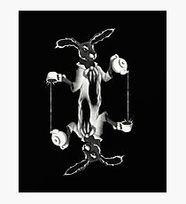 March Hare Card Design Photographic Print