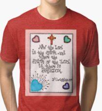 Bible verses Tri-blend T-Shirt