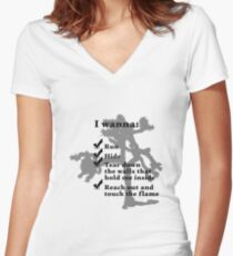 U2 - The Joshua Tree - Streets Women's Fitted V-Neck T-Shirt
