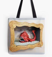 Sea Monster - Side View Tote Bag
