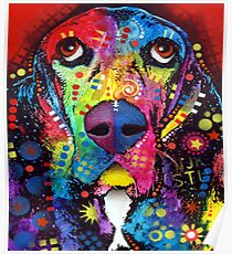 Dog Colors Poster