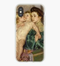 The Caress by Mary Cassatt iPhone Case