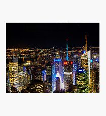 New york night Photographic Print