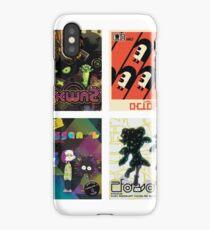 Splatoon Album Covers iPhone Case/Skin