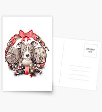It's a Pit Bull Christmas Postcards