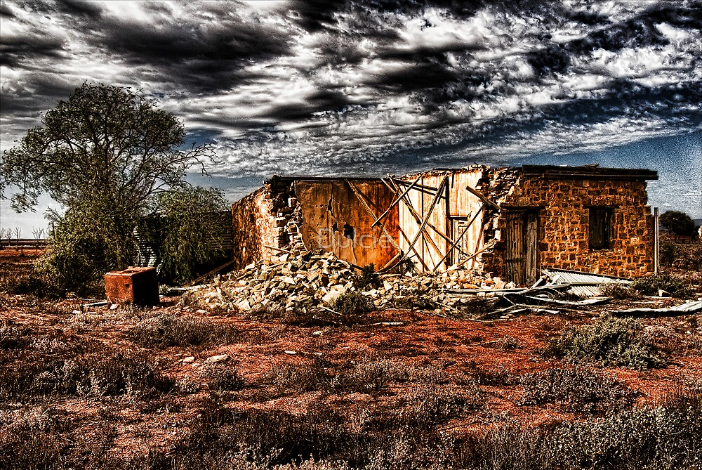 Outback Ruins by Dulcie