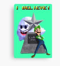 Luigi is Real  Canvas Print