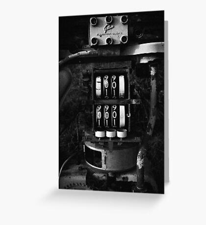 pump #2 Greeting Card