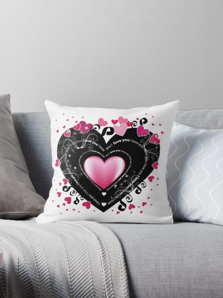 I Love You - Hearts by Jenn Graham