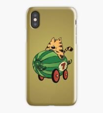 Albert and his watermelon ride iPhone Case/Skin