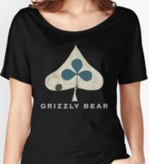 Grizzly Bear - Shields (Light Text) Women's Relaxed Fit T-Shirt