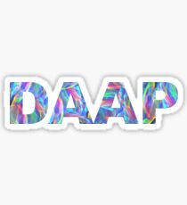 DAAP Sticker