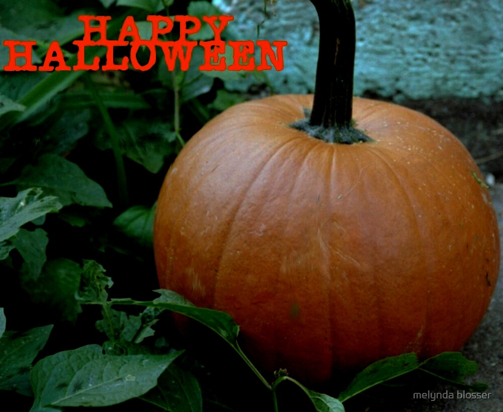 happy halloween by melynda blosser