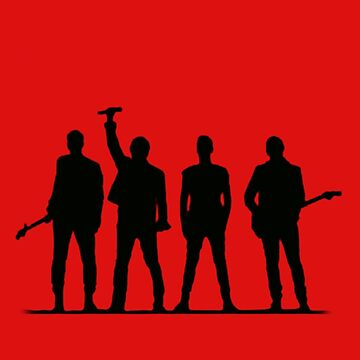 U2 silhouette The Joshua Tree Tour by thequeenssavior