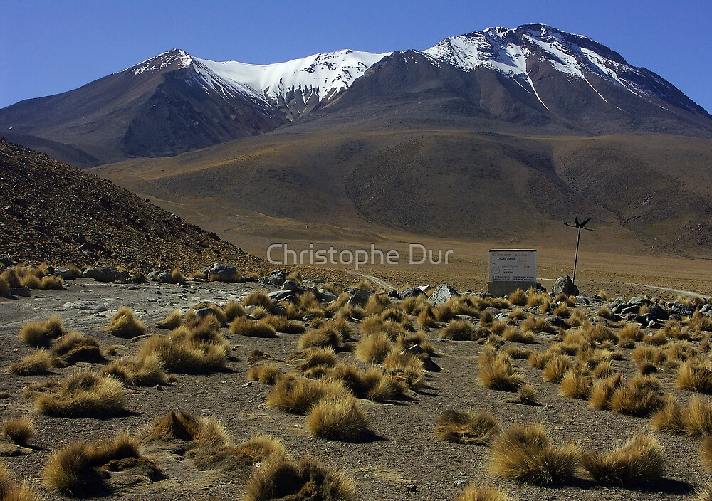 Bolivian mountains - Bolivia by Christophe Dur