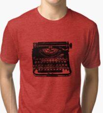 The Jack Kerouac Typerwriter Tshirt Tri-blend T-Shirt