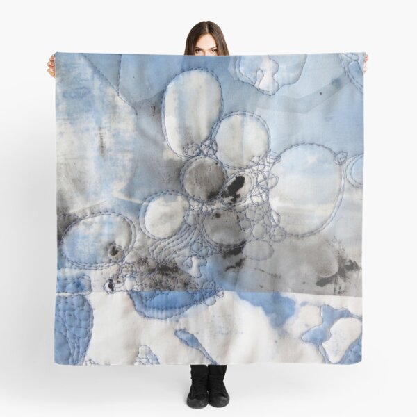 Dappled Water - Blue Scarf