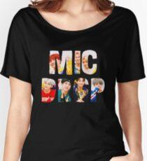 BTS Bangtan Mic Drop  Women's Relaxed Fit T-Shirt