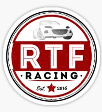 RTF Racing gear Sticker