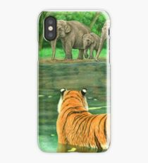 Asian Waterhole iPhone Case/Skin