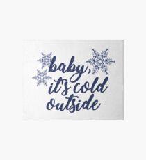Baby, It's Cold Outside Art Board