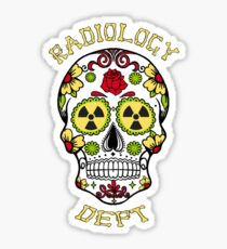 RADIOLOGY DEPT Sticker