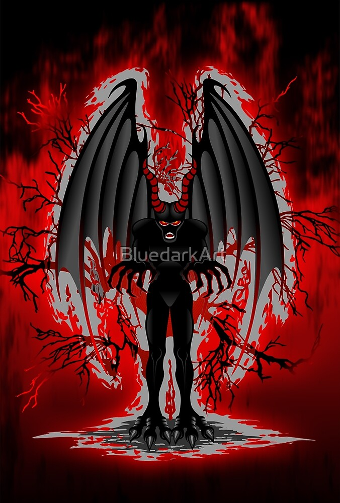 Evil Demon Spirit by BluedarkArt