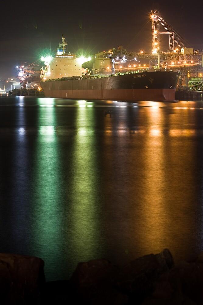 Port Kembla Shipping by Rowen Atkinson