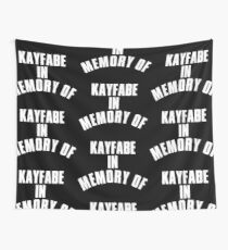 IN MEMORY OF KAYFABE Wall Tapestry