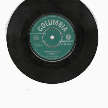 Rocknrol 'T's 'High class baby' Cliff Richard by kitza