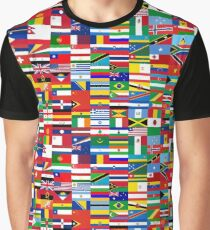 FLAG ME-WORLD FLAGS Graphic T-Shirt