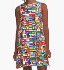 FLAG ME-WORLD FLAGS A-Line Dress