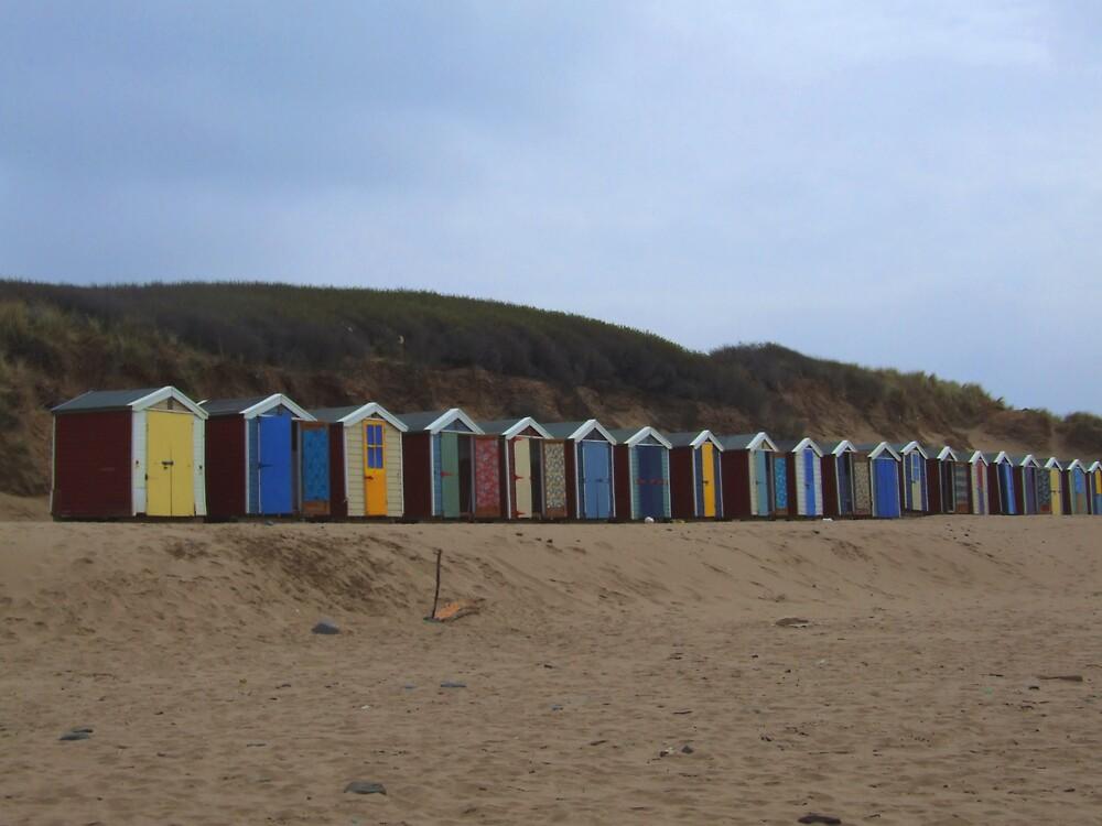 Beach Huts by splendidpear
