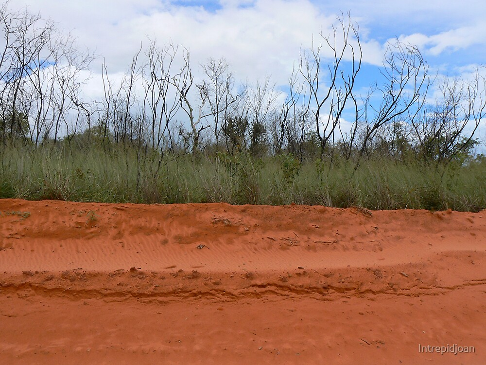 Red dirt by Intrepidjoan