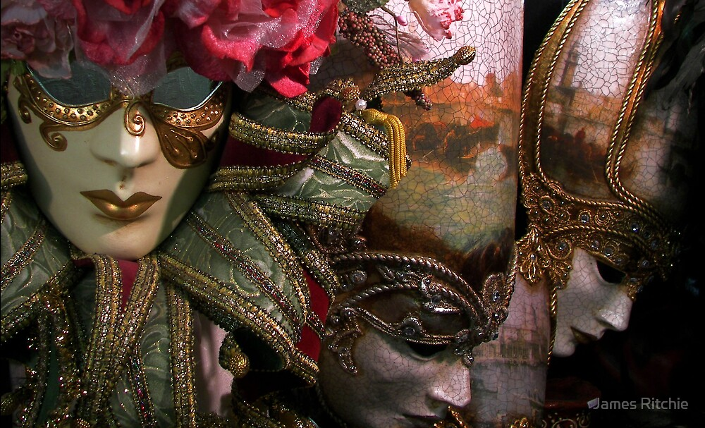 Carnival Masks by James Ritchie