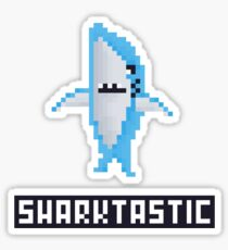 Shark-tastic Left Shark Sticker