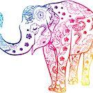 «Elefante arcoiris» de adjsr