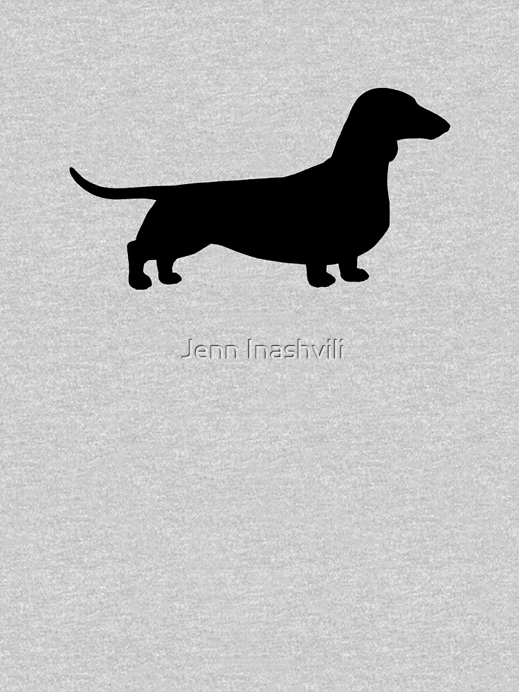 Dachshund Silhouette(s) by ShortCoffee