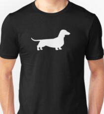 Dachshund Silhouette(s) Unisex T-Shirt