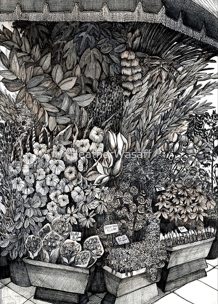 Flower Stand by HeatherWasaff
