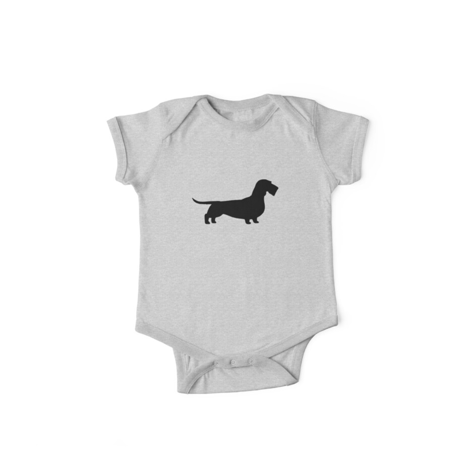 Wire Haired Dachshund Silhouette(s)\