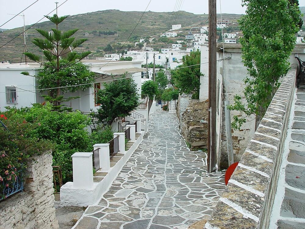 Small Street form Paros by Anastasia Karatsivi