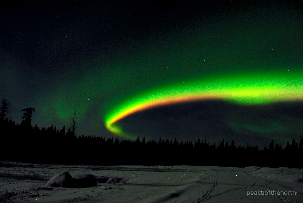 Arc of the Aurora by peaceofthenorth