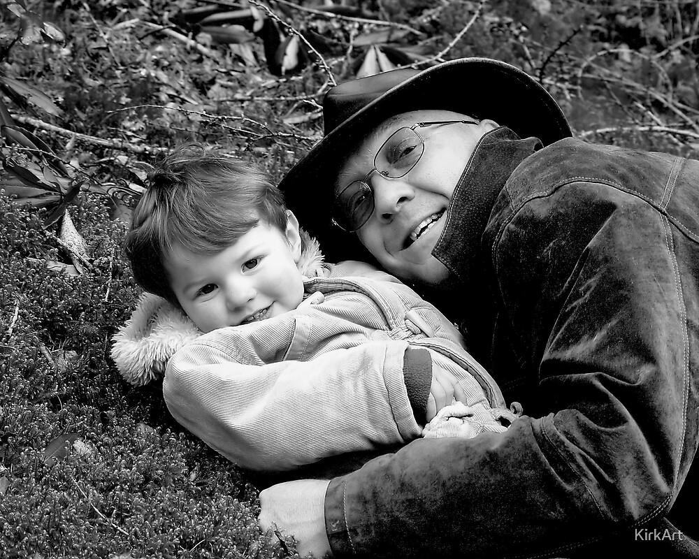 My Dad & Me by KirkArt